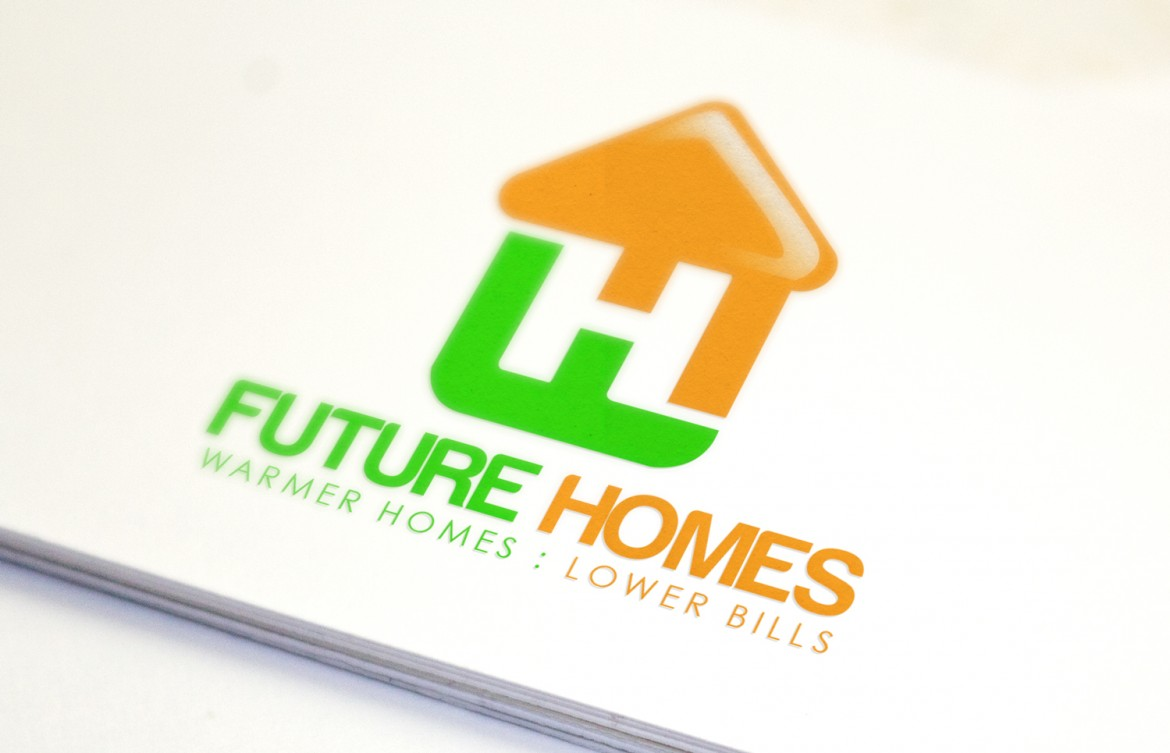 Future Homes Logo Design